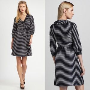 Kate Spade 100% Silk Daniella Wrap Dress 12